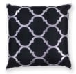 Product Image of Contemporary / Modern Black (L-300) pillow