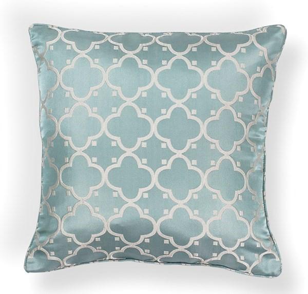Light Blue (L-251) Moroccan pillow