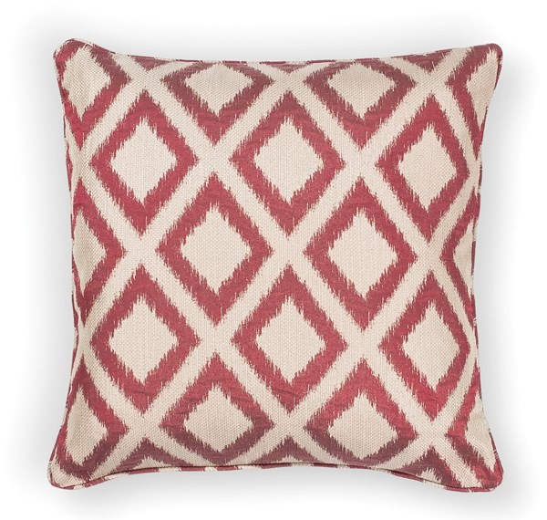 Red (L-243) Contemporary / Modern pillow