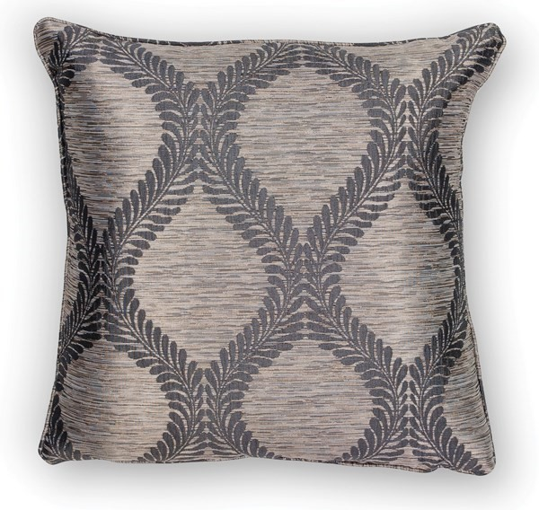 Grey (L-241) Contemporary / Modern pillow
