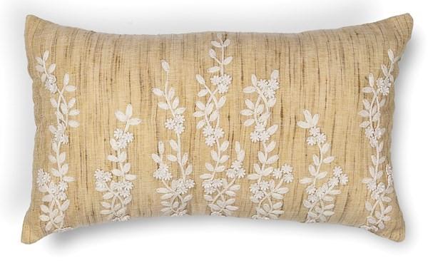 Beige (L-216) Floral / Botanical pillow