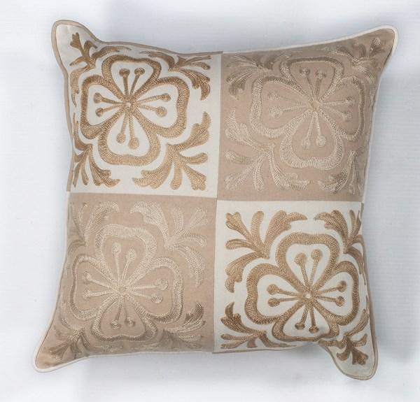 Beige (L-131) Transitional pillow
