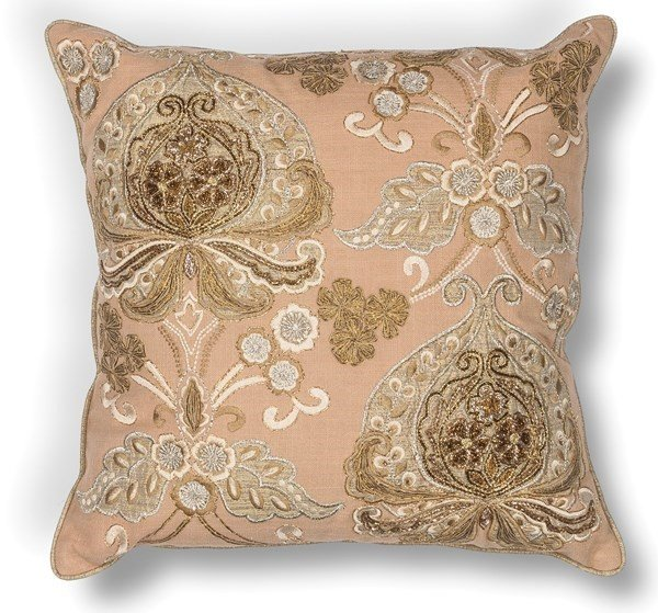 Gold (L-180) Traditional / Oriental pillow