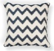 Product Image of Chevron Ivory, Navy (L-244) pillow