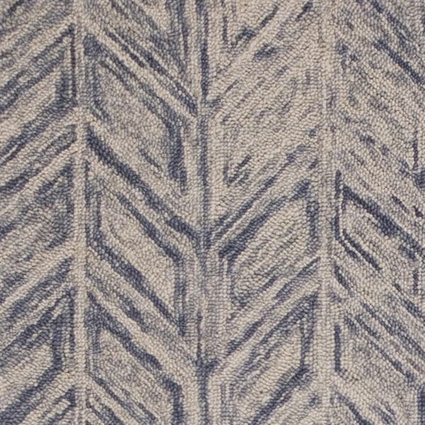 Blue Heather (1611) Transitional Area Rug