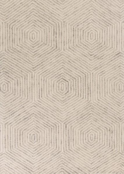 Ivory (1607) Contemporary / Modern Area Rug