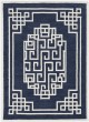 Product Image of Transitional Navy, Ivory (1613) Area Rug