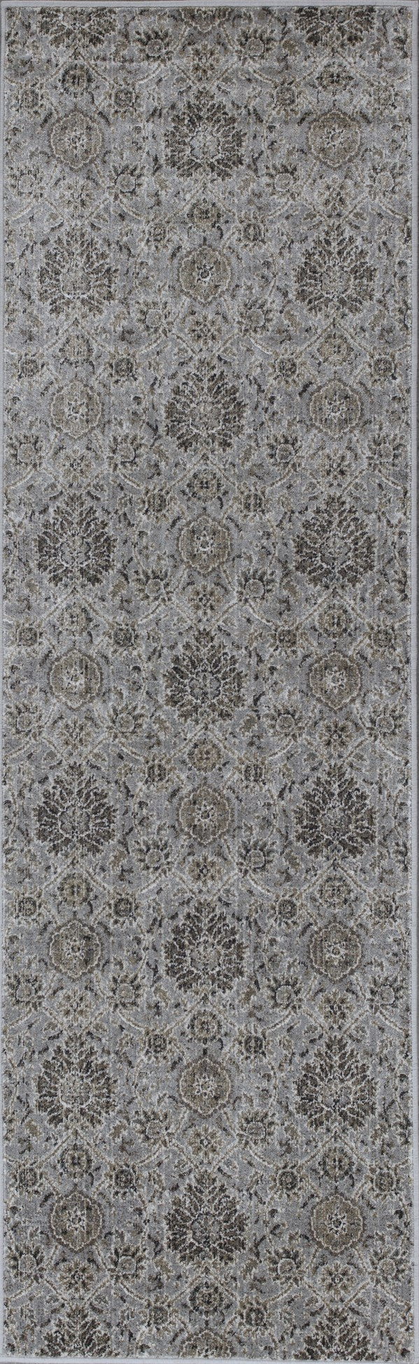 Silver (8605) Traditional / Oriental Area Rug