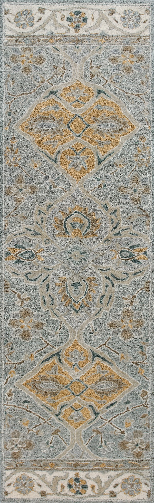 Slate Grey (3601) Traditional / Oriental Area Rug