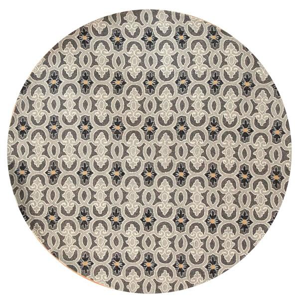 Charcoal (4201) Outdoor / Indoor Area Rug