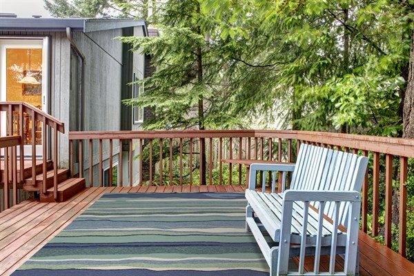 Blue (4216) Outdoor / Indoor Area Rug