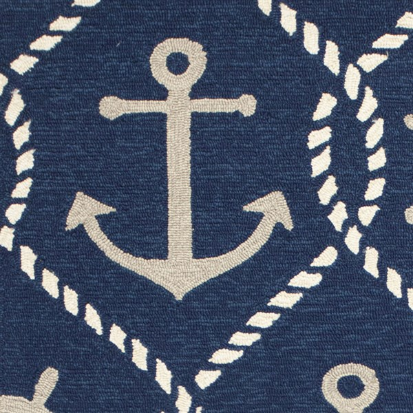 Navy (4220) Outdoor / Indoor Area Rug
