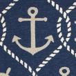 Product Image of Navy (4220) Outdoor / Indoor Area Rug