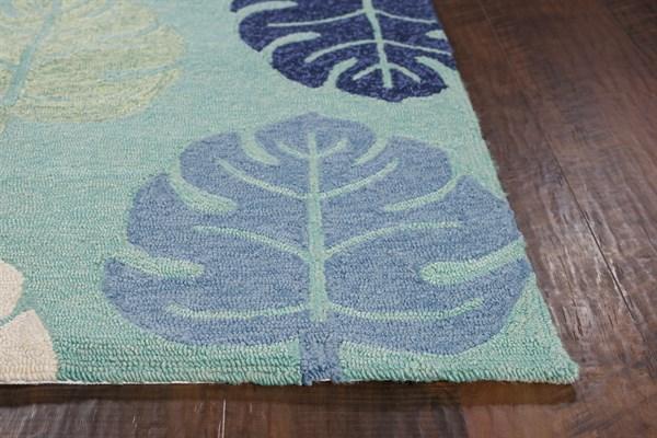 Turquoise (4228) Outdoor / Indoor Area Rug