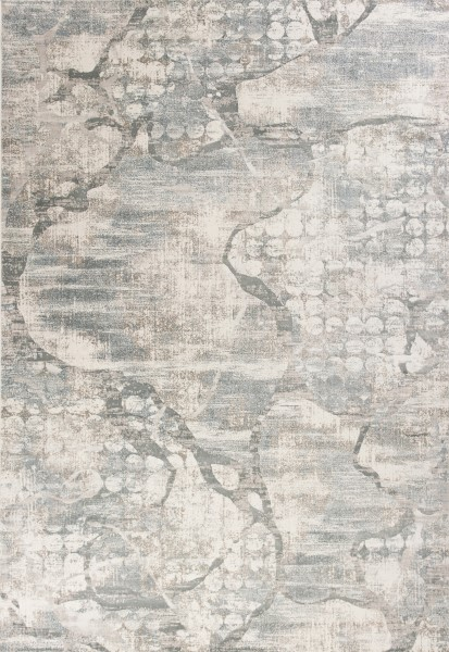 Ivory, Mist (6514) Abstract Area Rug