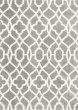 Product Image of Contemporary / Modern Grey, Ivory (1653) Area Rug