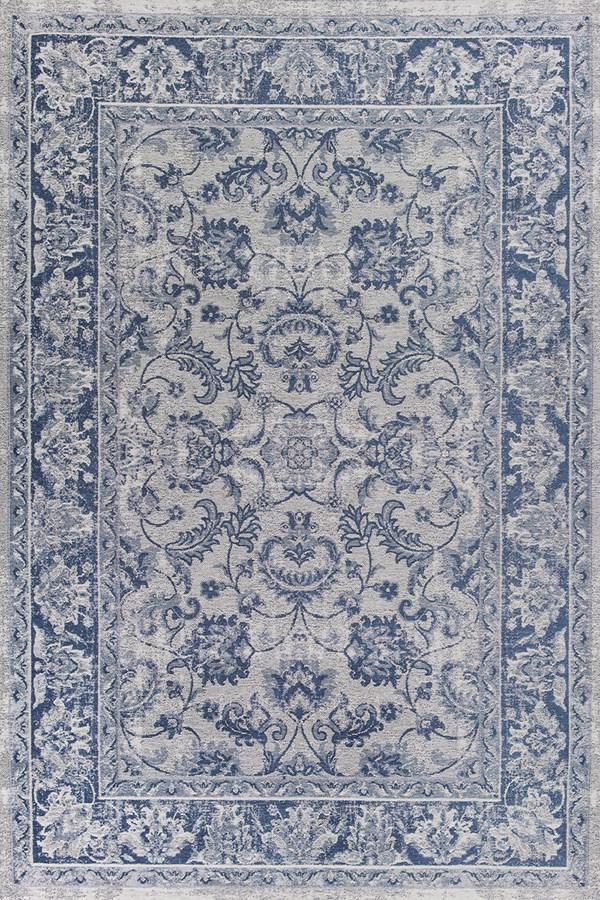 Slate Blue (107) Traditional / Oriental Area Rug