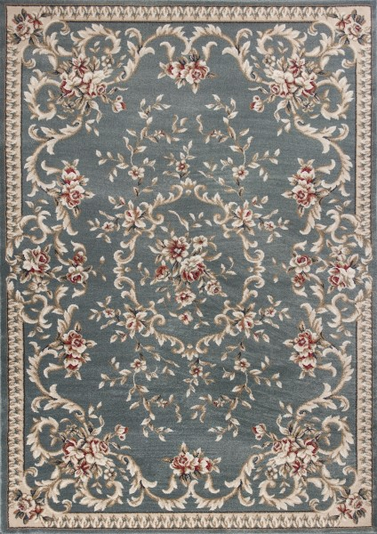 Slate Blue (5602) Traditional / Oriental Area Rug