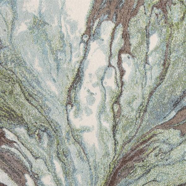 Seafoam (6203) Abstract Area Rug