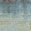 Product Image of Blue, Green (6206) Abstract Area Rug