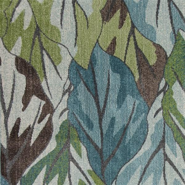 Blue (6250) Floral / Botanical Area Rug