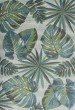 Product Image of Floral / Botanical Teal, Green (6253) Area Rug