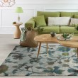 Product Image of Teal (6258) Floral / Botanical Area Rug