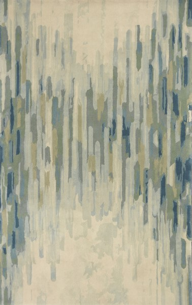 Green (3005) Abstract Area Rug