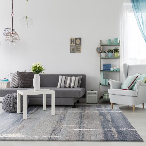 Blue (5900) Contemporary / Modern Area Rug