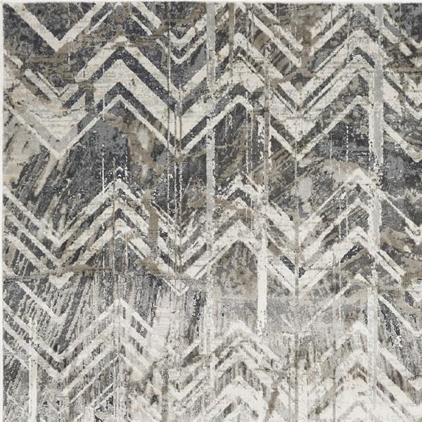 Grey (4758) Vintage / Overdyed Area Rug