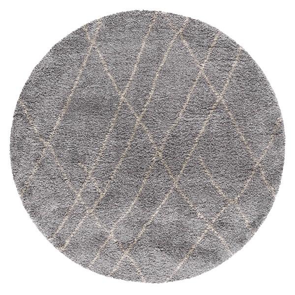 Slate (1503) Shag Area Rug
