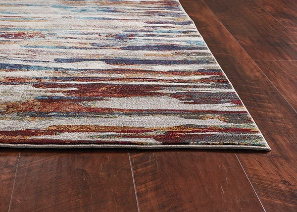 Ivory (6109) Abstract Area Rug