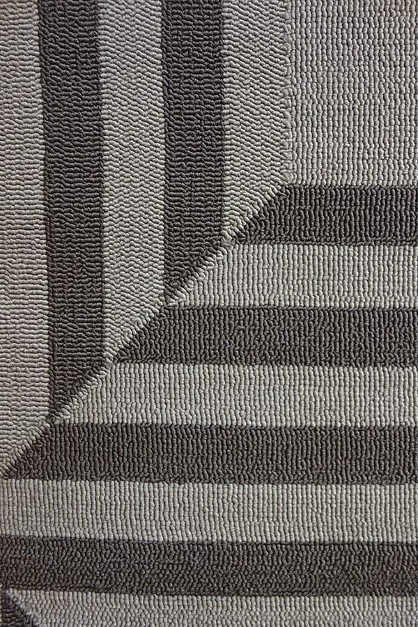 Charcoal (5220) Outdoor / Indoor Area Rug