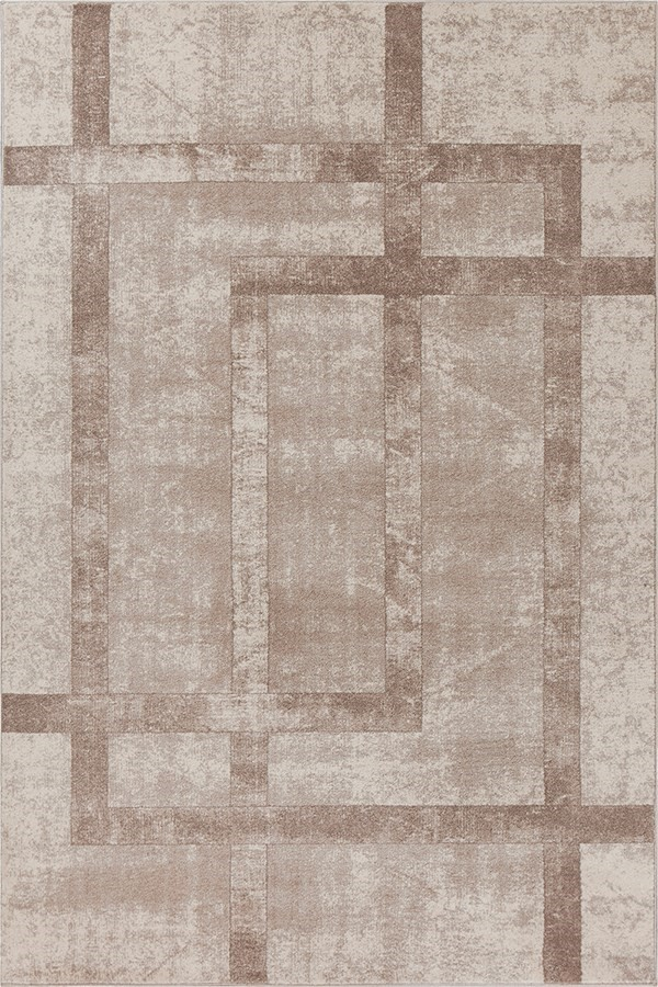 Cream (LLW-5813) Contemporary / Modern Area Rug