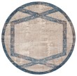 Product Image of Tan, Teal (LLW-5816) Bordered Area Rug
