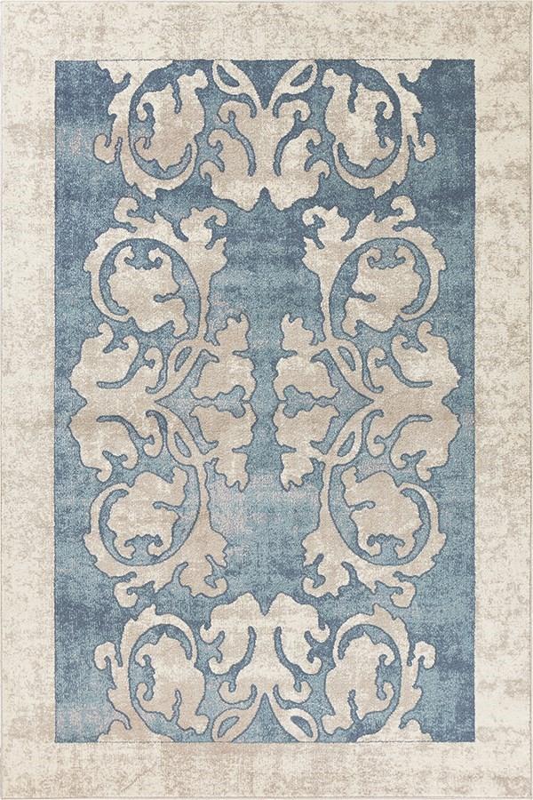 Blue (LLW-5822) Traditional / Oriental Area Rug