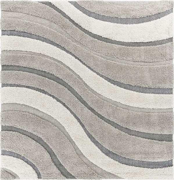 Grey (6911) Contemporary / Modern Area Rug