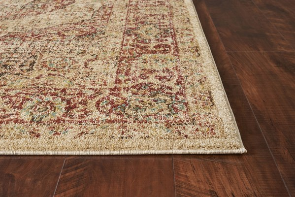 Spice, Red (4443) Vintage / Overdyed Area Rug