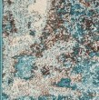 Product Image of Ivory, Teal (6233) Abstract Area Rug