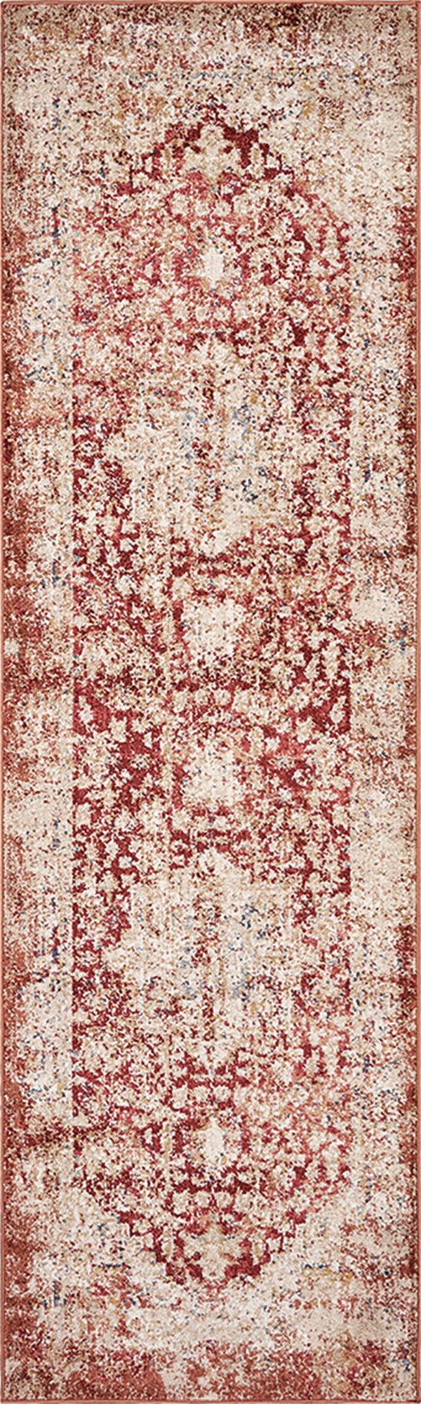 Spice, Red (6355) Vintage / Overdyed Area Rug