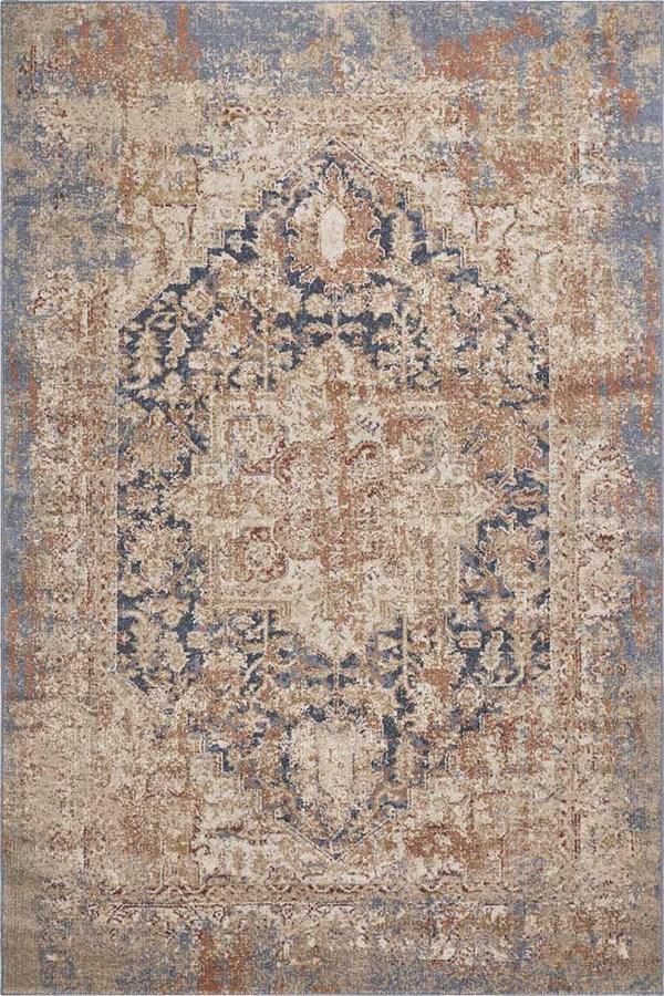 Blue (6356) Vintage / Overdyed Area Rug