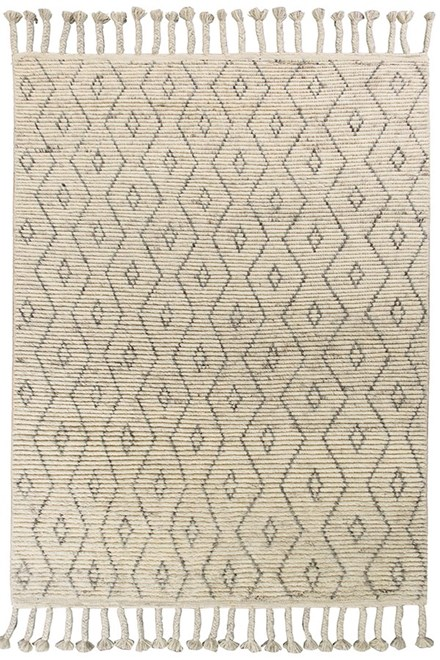 Natural, Ivory (0220) Moroccan Area Rug