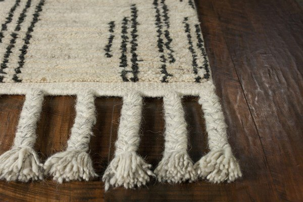 Natural, Ivory (0222) Moroccan Area Rug