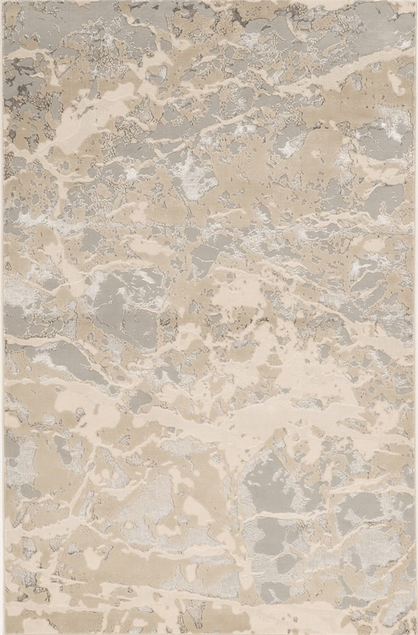 Beige, Grey (7123) Transitional Area Rug