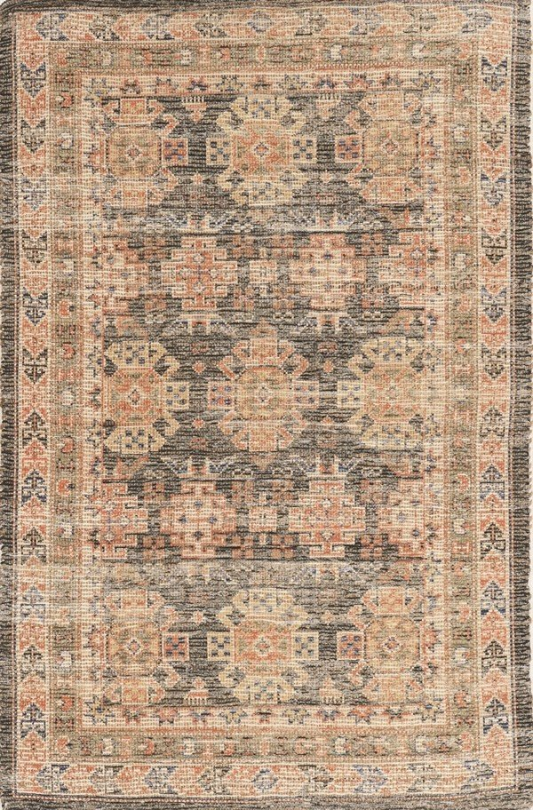 Charcoal (2220) Traditional / Oriental Area Rug