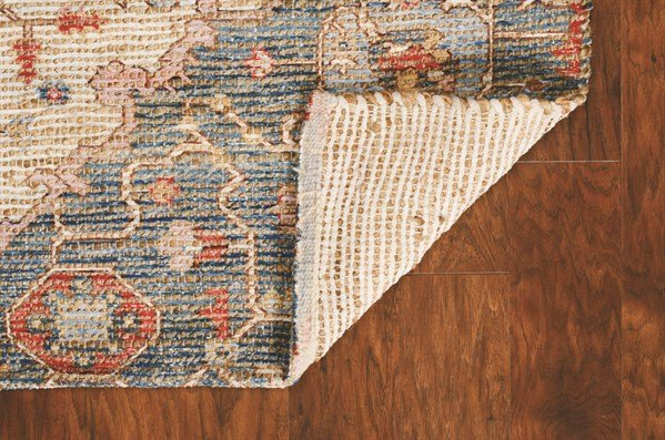Blue, Red (2223) Traditional / Oriental Area Rug