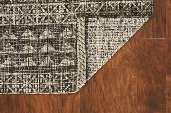 Charcoal (5761) Outdoor / Indoor Area Rug