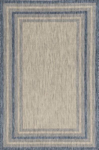 Grey, Denim (5756) Outdoor / Indoor Area Rug