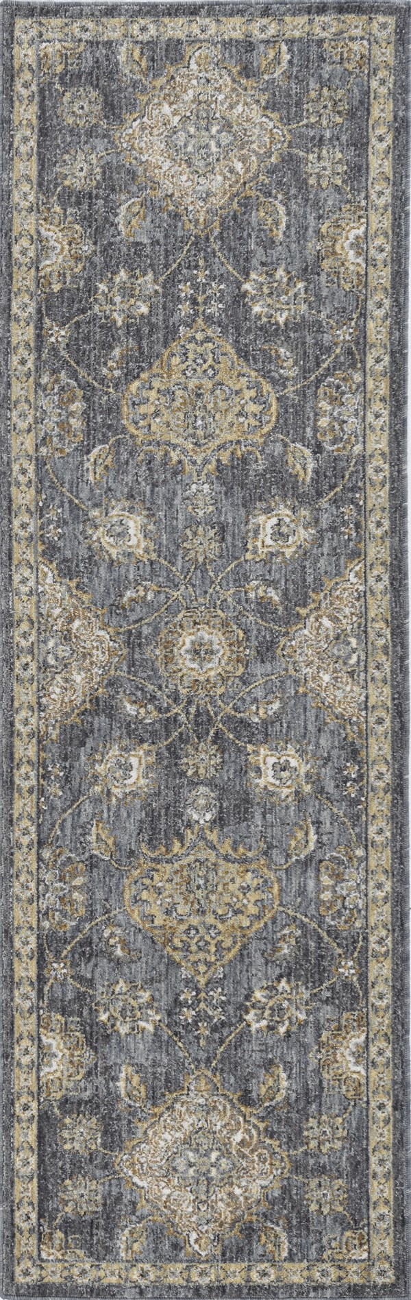 Slate, Grey (6822) Traditional / Oriental Area Rug