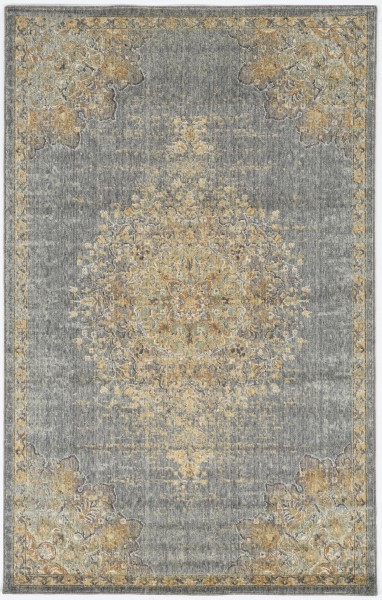 Slate, Grey (6825) Traditional / Oriental Area Rug